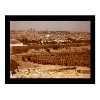 Jerusalén de las postales del oro