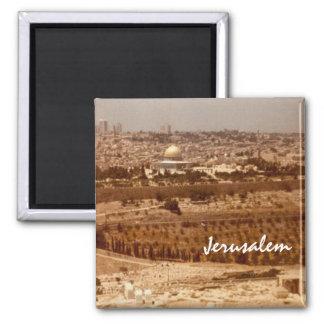 Jerusalén de los imanes del oro imán para frigorifico