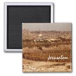 Jerusalén de los imanes del oro imán cuadrado