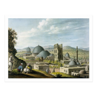 Jerusalén del oeste, pub. por los vatios de postal
