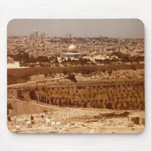 Jerusalén del oro Mousepad