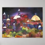 Jerusalén en la noche poster