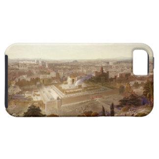 Jerusalén en su grandeza, grabada por Charles Mot iPhone 5 Cárcasa