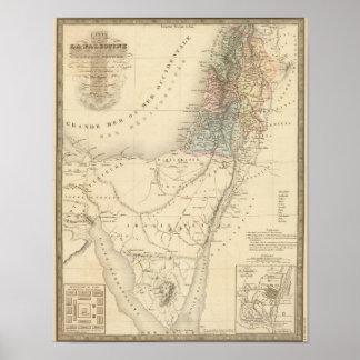 Jerusalén histórica, Palestina Poster