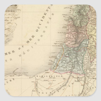Jerusalén histórica, Palestina Pegatina Cuadrada