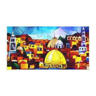 Jerusalén Impresión En Lienzo