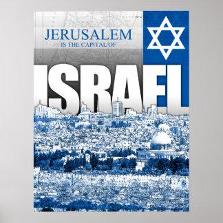 Jerusalén, Israel Poster