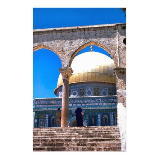 Jerusalén, la bóveda de la roca papeleria