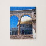 Jerusalén, la bóveda de la roca puzzle con fotos