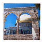 Jerusalén, la bóveda de la roca tejas  ceramicas