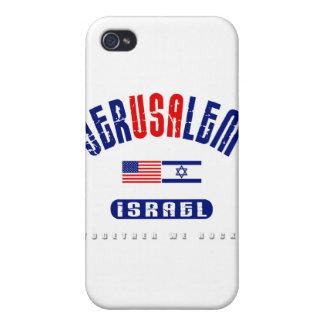 """Jerusalén lem) (de Jer los """" E.E.U.U. """" los E.E.U. iPhone 4/4S Carcasas"""