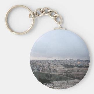Jerusalén oriental del monte de los Olivos Llaveros Personalizados