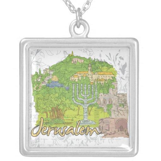 Jerusalén Pendientes Personalizados