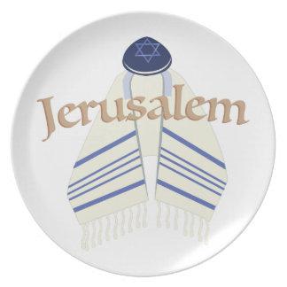 Jerusalén Platos Para Fiestas