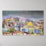 Jerusalén Poster