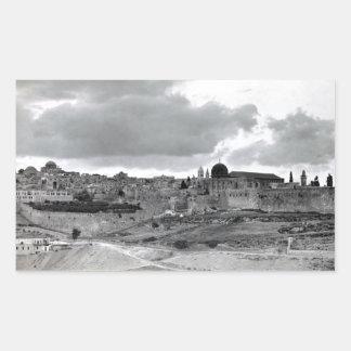Jerusalén - pre 1940 pegatinas