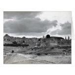 Jerusalén - pre 1940 tarjetas