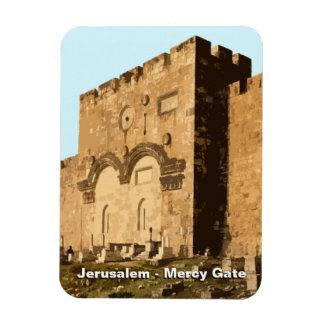 Jerusalén - puerta de la misericordia imán