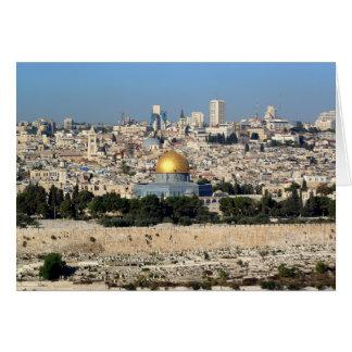 Jerusalén Tarjeta De Felicitación