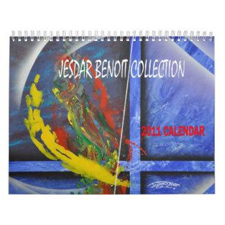 JESDAR BENOIT COLLECTION 2011 Calendar