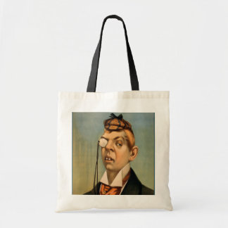 Jess of the Bar Z - Lord Archibald Cunningham Tote Bags