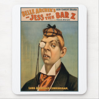 Jess of the Bar Z - Lord Archibald Cunningham Mouse Pad
