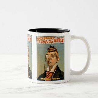 Jess of the Bar Z - Lord Archibald Cunningham Two-Tone Coffee Mug