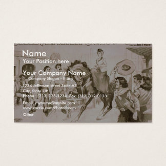 Jess of the Barz Business Card