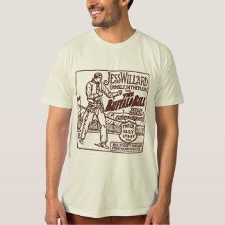 Jess Willard 1917 Heavyweight Champ Buffalo Bill Shirt