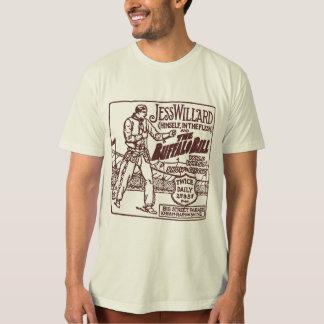 Jess Willard 1917 Heavyweight Champ Buffalo Bill T-Shirt