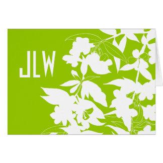 Jessamine Monogram Card