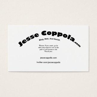 Jesse B.C. Business Card