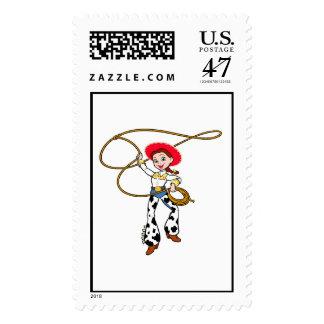 Jesse de Toy Story con Lassoo Sello Postal