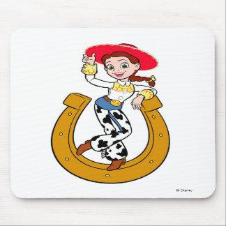 Jesse de Toy Story en la herradura Alfombrilla De Raton
