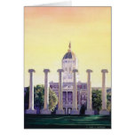 """Jesse Hall"" University of Missouri Watercolor Greeting Cards"