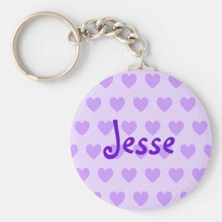 Jesse in Purple Keychain