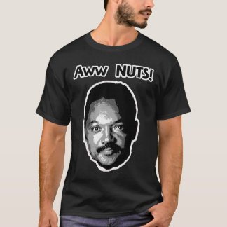 Jesse Jackson Aww NUTS Shirt - dark