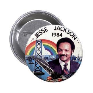 Jesse Jackson - botón Pin Redondo De 2 Pulgadas