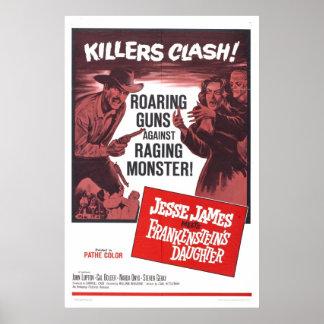 Jesse James Meets Frankenstein Daughter Poster