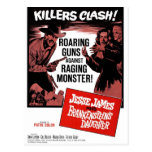 Jesse James Meets Frankenstein's Daughter Postcard