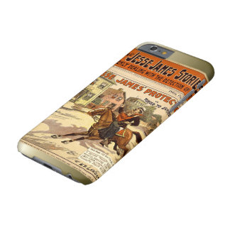 Jesse James Outlaw Bank Robber Comic Book Barely There iPhone 6 Case