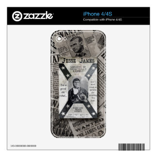 Jesse James Skins Para eliPhone 4
