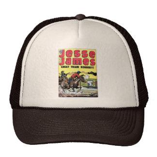 Jesse James Train Robbery Mesh Hat