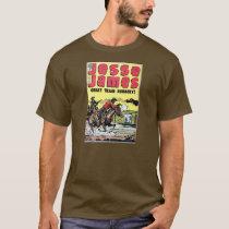 Jesse James Train Robbery T-Shirt