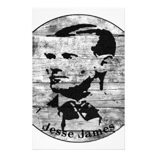 Jesse James Vintage Photo Stationery