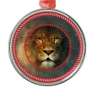 Jesse Lion Ornament #1 ornament