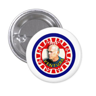 """Jesse """"The Body"""" Ventura for president 2016 1 Inch Round Button"""