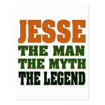 Jesse - the Man, the Myth, the Legend! Post Card