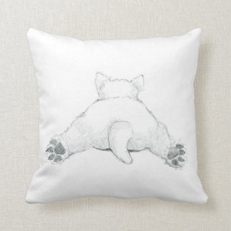 Jesse the Rescue Westie throw pillow