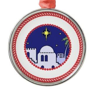 Jesse Tree Bethlehem #1 Ornament